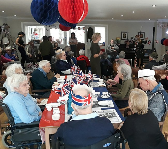VE Day Party celebrations at Low Furlong
